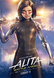 Alita: Battle Angel (3d) now showing at Shelly Centre