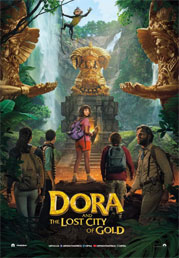 Dora And The Lost City Of Gold now showing at Shelly Centre