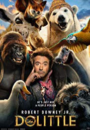 Dolittle now showing at Shelly Centre