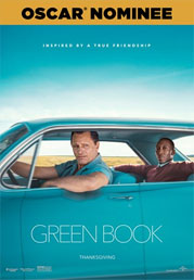 Green Book now showing at Shelly Centre