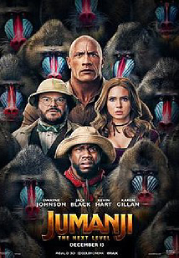 Jumanji: The Next Level now showing at Shelly Centre