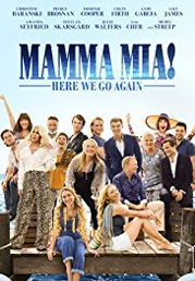 Mamma Mia: Here We Go Again now showing at Shelly Centre