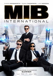Men in black international - 3d now showing at Shelly Centre
