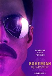 Bohemian Rhapsody now showing at Shelly Centre