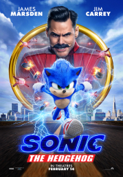Sonic The Hedgehog now showing at Shelly Centre